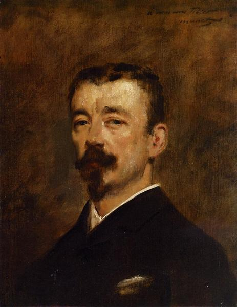 Portrait of Monsieur Tillet, c.1871 - Edouard Manet