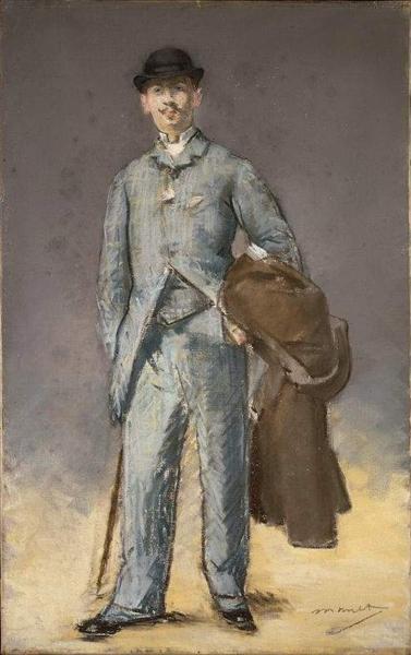René Maizeroy, 1882 - Edouard Manet