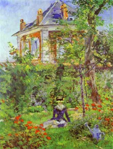 The Garden at Bellevue, 1880 - Edouard Manet