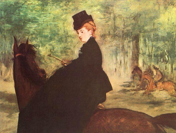 The Horsewoman - Edouard Manet
