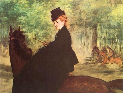 The Horsewoman - Edouard Manet
