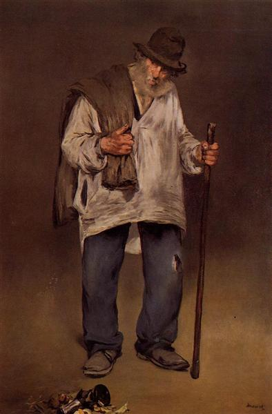 The ragpicker, 1869 - Edouard Manet