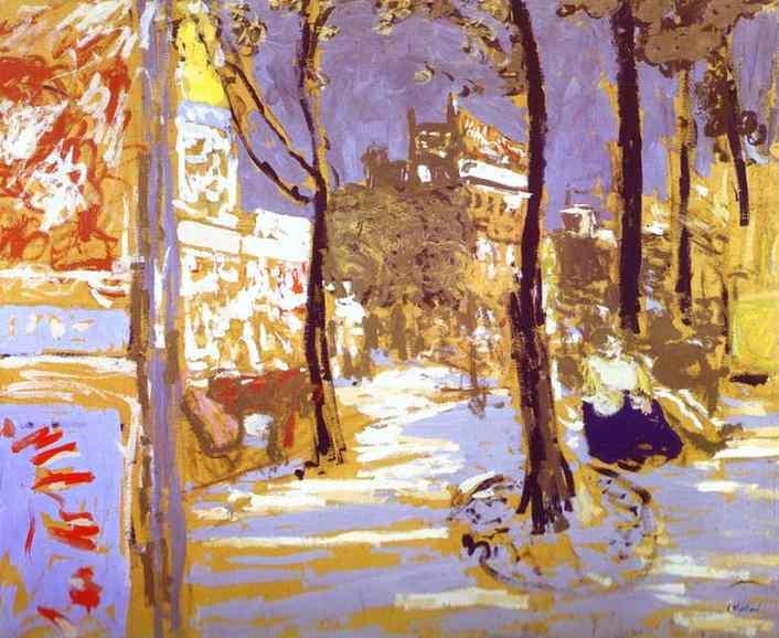 Boulevard ofBattignolles, 1910 - Edouard Vuillard
