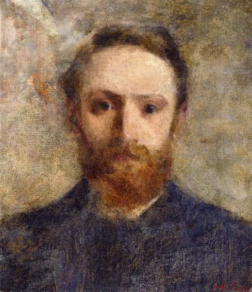 Self-Portrait, 1889 - Edouard Vuillard