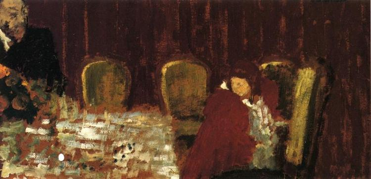 The Dining Room, 1900 - Edouard Vuillard