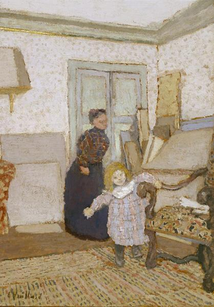 The First Steps, 1890 - Edouard Vuillard