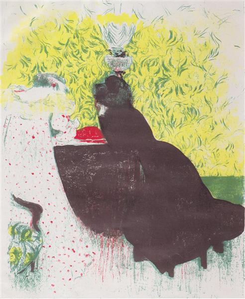 The two sisters, 1899 - Edouard Vuillard