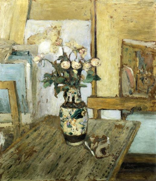 Vase of Flowers, 1903 - Edouard Vuillard