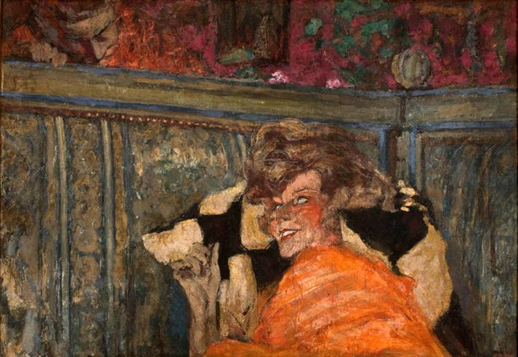 Yvonne Printemps and Sacha Guitry, 1917 - Edouard Vuillard