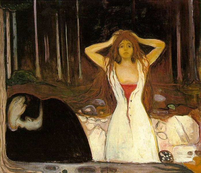 Ashes - Edvard Munch