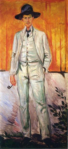 Ludvig Karsten, 1905 - Edvard Munch