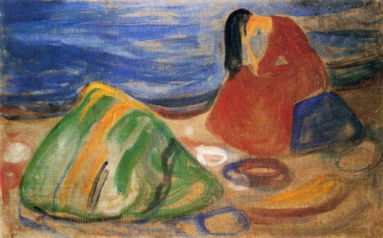 Melancholy, 1911 - Edvard Munch