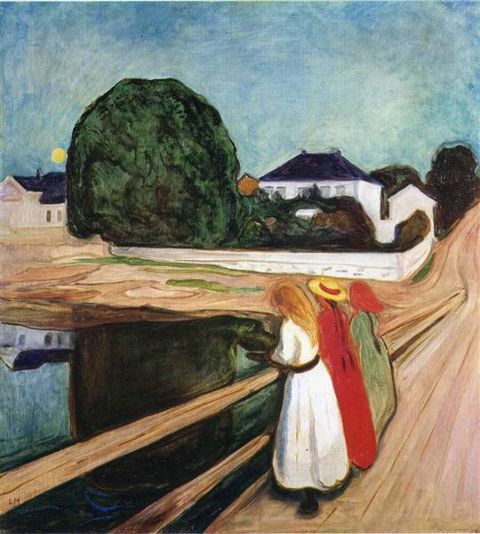 The Girls on the Bridge, 1901 - Edvard Munch