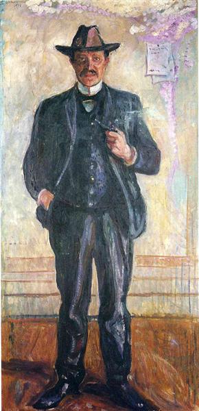 Thorvald Stang, 1909 - Edvard Munch