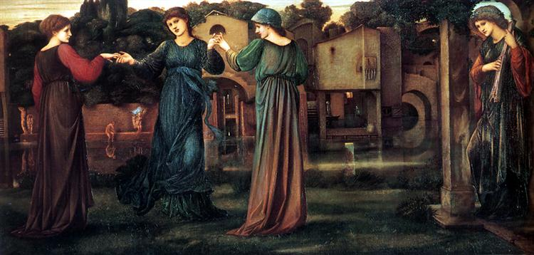 The Mill - Burne-Jones Edward