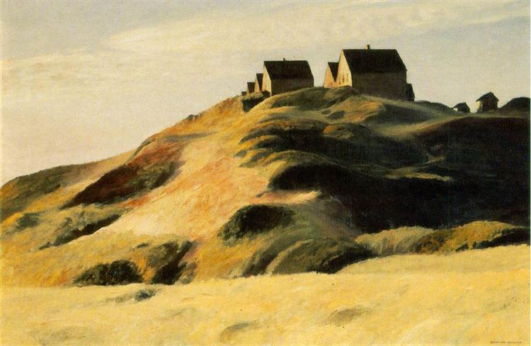 Corn Hill, 1930 - Edward Hopper
