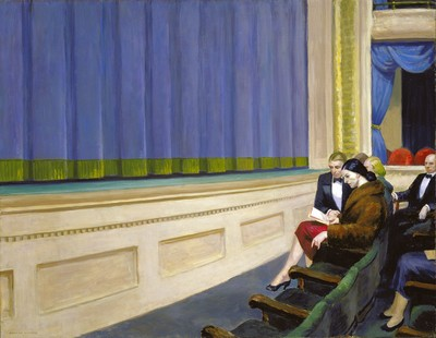 First Row Orchestra, 1951 - Edward Hopper
