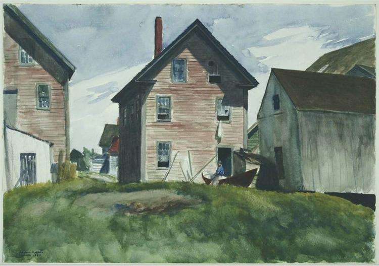 Gloucester Mansion, 1924 - Edward Hopper
