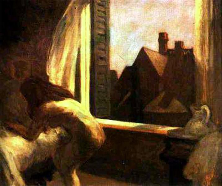 Moonlight Interior, 1921 - 1923 - Edward Hopper