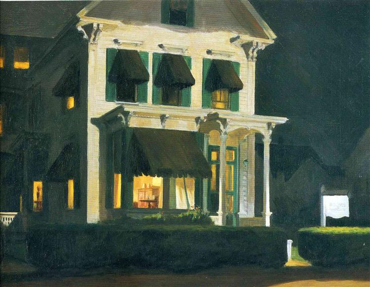Rooms for Tourists, 1945 - Edward Hopper