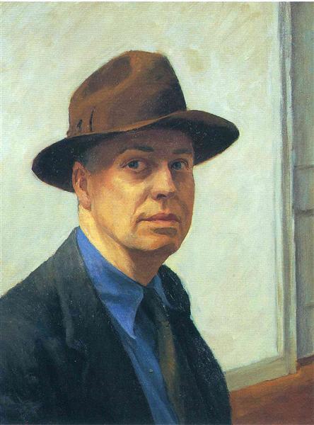 Self-Portrait, 1925 - 1930 - Edward Hopper