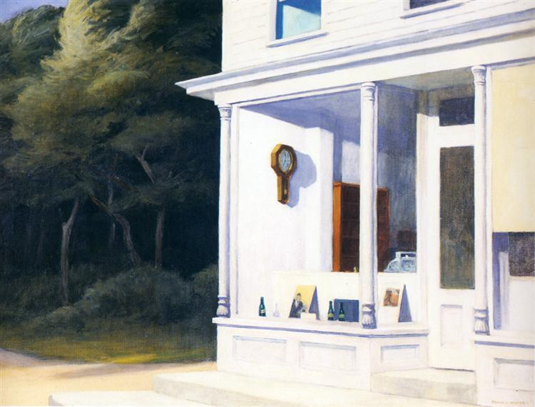 Seven A.M., 1948 - Edward Hopper