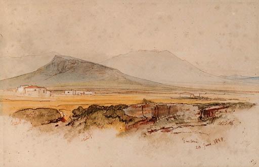 Eretria, Euboea, Greece - Edward Lear