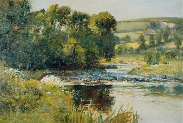 Streamside - Edward Mitchell Bannister