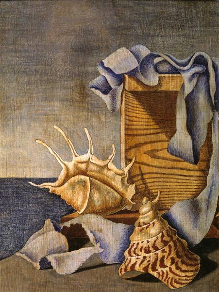 Still Life, 1926 - Edward Wadsworth