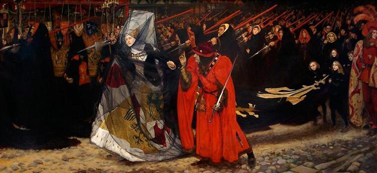 Richard, Duke of Gloucester, and the Lady Anne, 1896 - Edwin Austin Abbey