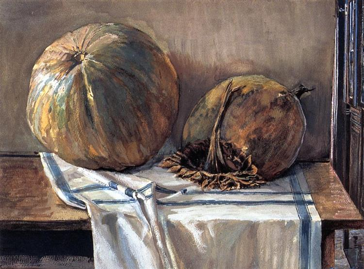 Melon, 1905 - Egon Schiele