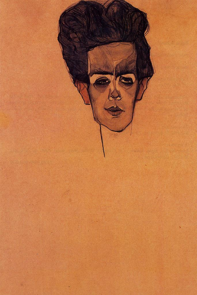 Self Portrait - Egon Schiele - WikiPaintings.org