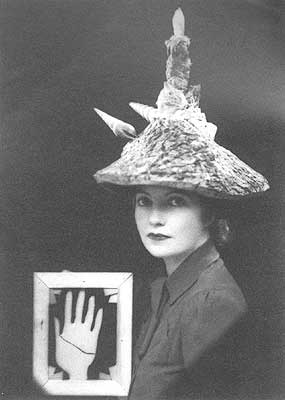 Ceremonial Hat for Eating Bouillabaisse - Eileen Agar