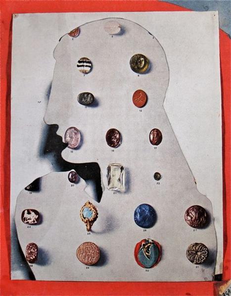Precious Stones, 1936 - Eileen Agar