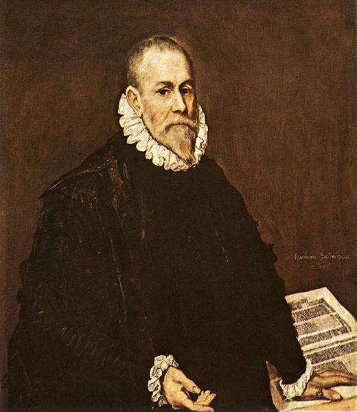 Portrait of a doctor Rodrigo de la Fuente, c.1580 - El Greco