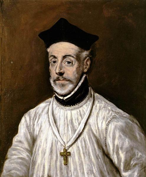 Portrait of Diego de Covarrubias - El Greco
