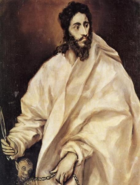 St. Bartholomew, c.1614 - El Greco