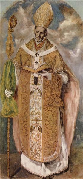 St. Idelfonso, c.1613 - Ель Греко