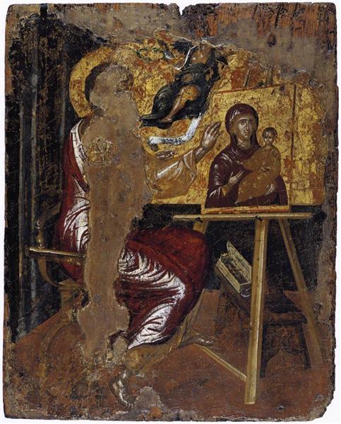St. Luke painting the Virgin, 1568 - El Greco