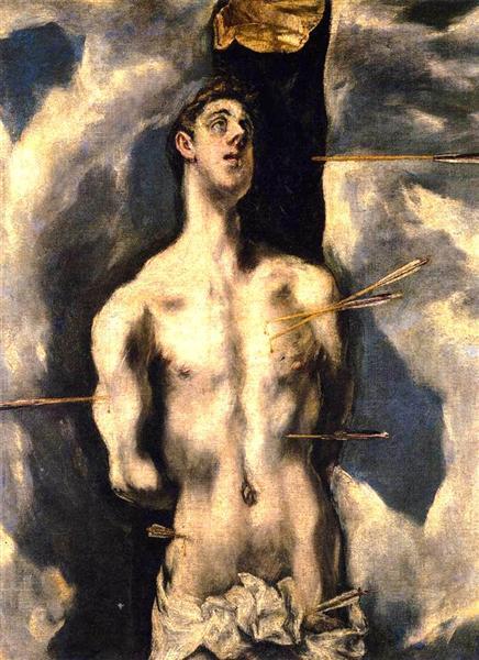 El martirio de San Sebastián, c.1612 - El Greco - WikiArt.org