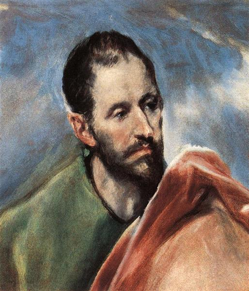 Study of a Man, c.1595 - El Greco