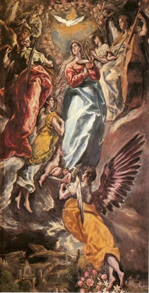 The Virgin of the Immaculate Conception, c.1611 - El Greco