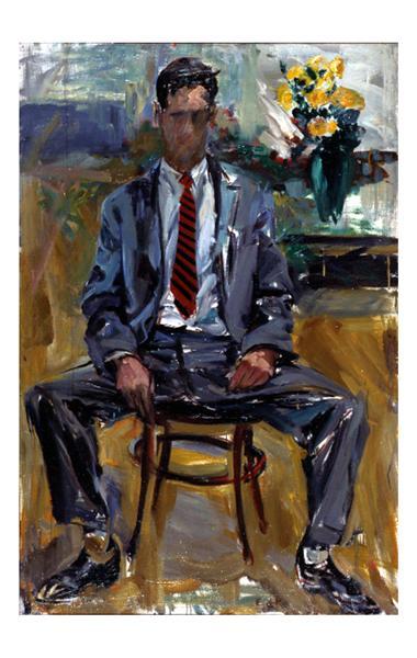Fairfield Porter #1, 1954 - Elaine de Kooning