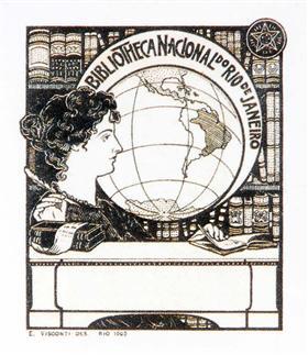 Ex Libris Bibliotheca Nacional - Eliseu Visconti