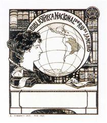 Ex Libris Bibliotheca Nacional, Eliseu Visconti