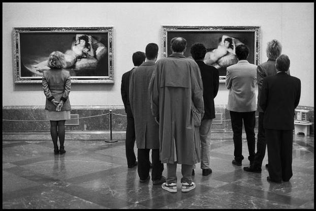 Museo del Prado, Madrid, 1995 - Elliott Erwitt