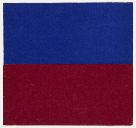 Blue and Red, 1951 - Ellsworth Kelly