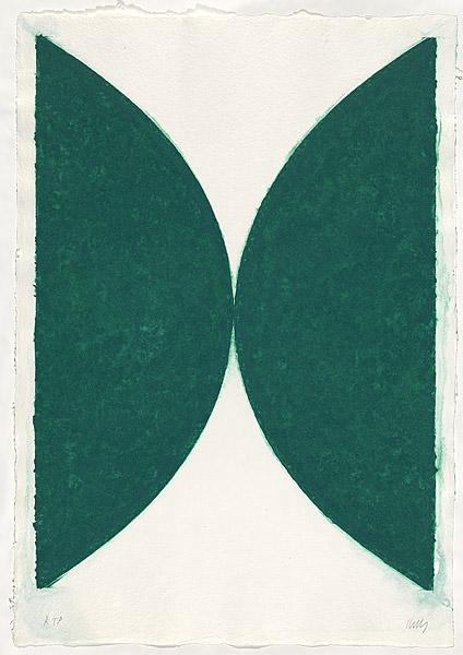 Colored paper images II, State, 1976 - Ellsworth Kelly