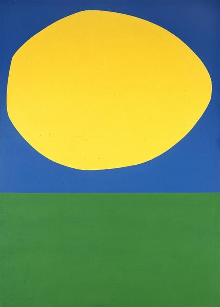 High Yellow, 1960 - Эльсуорт Келли