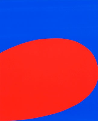 Red/Blue (from Ten Works by Ten Painters), 1964 - Ellsworth Kelly